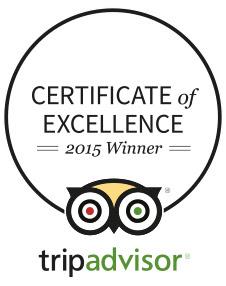 Certificate by TripAdvisor